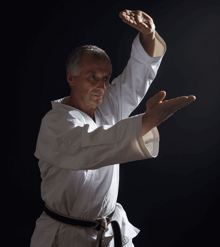 Martial Arts Lessons for Adults in Broomfield CO - Older Man