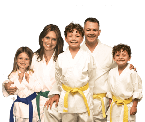 Martial Arts Lessons for Families in Broomfield CO - Group Family for Martial Arts Footer Banner