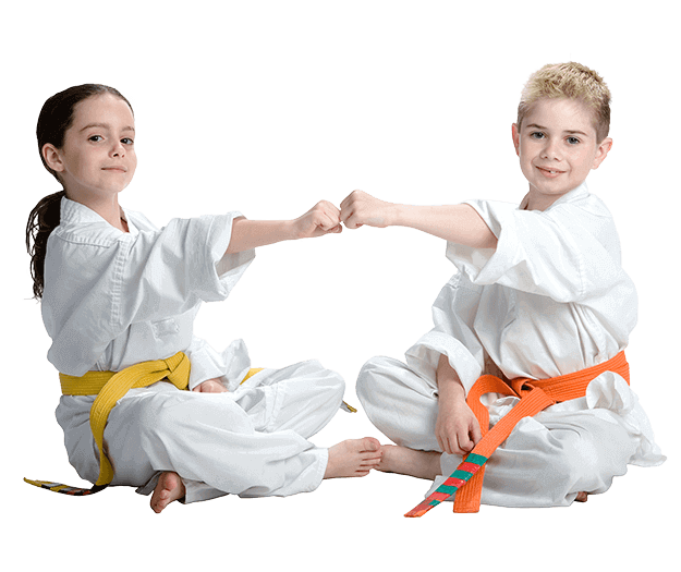 Martial Arts Lessons for Kids in Broomfield CO - Kids Greeting Happy Footer Banner