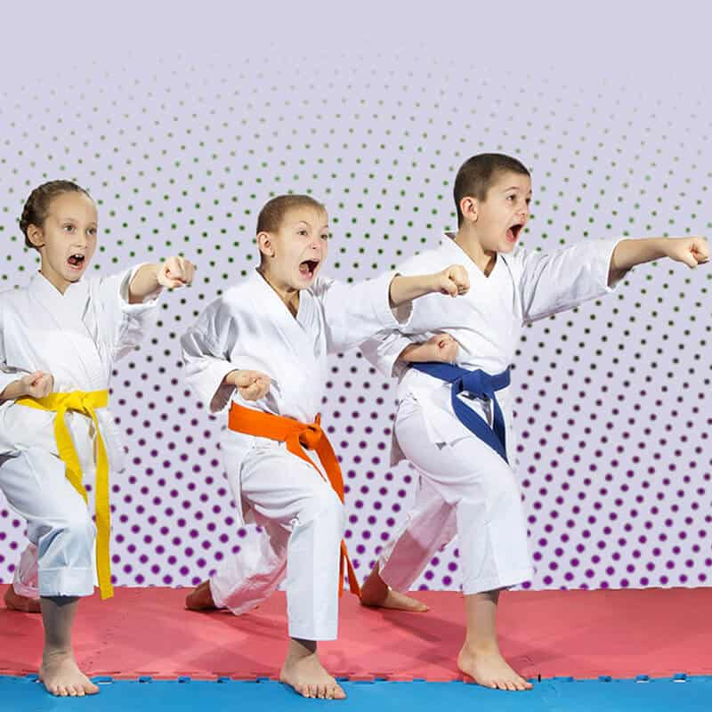 Martial Arts Lessons for Kids in Broomfield CO - Punching Focus Kids Sync