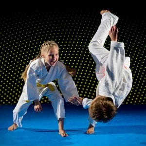 Martial Arts Lessons for Kids in Broomfield CO - Judo Toss Kids Girl