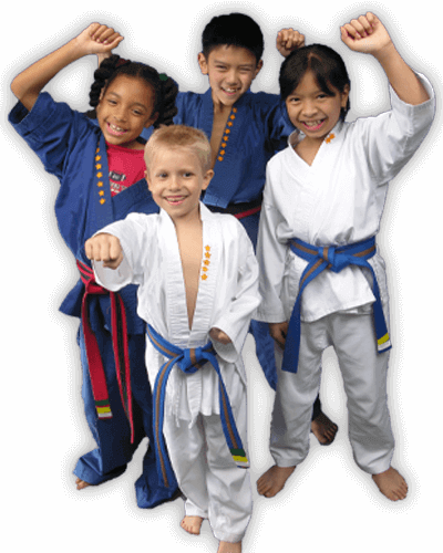 Martial Arts Summer Camp for Kids in Broomfield CO - Happy Group of Kids Banner Summer Camp Page